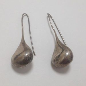 Jewelry - Sterling Silver Hershey Kiss Pierced Earrings